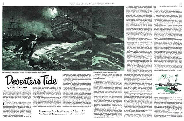 Article Preview: Deserter's Tide, March 1947 | Maclean's