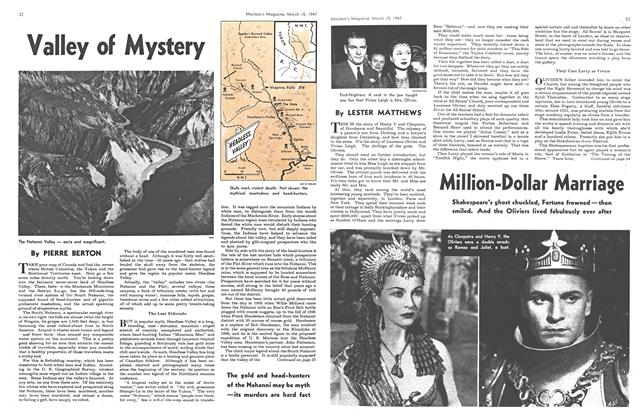 Article Preview: Valley of Mystery, March 1947 | Maclean's