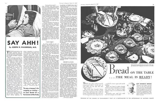 Article Preview: SAY AHH!, March 1947 | Maclean's