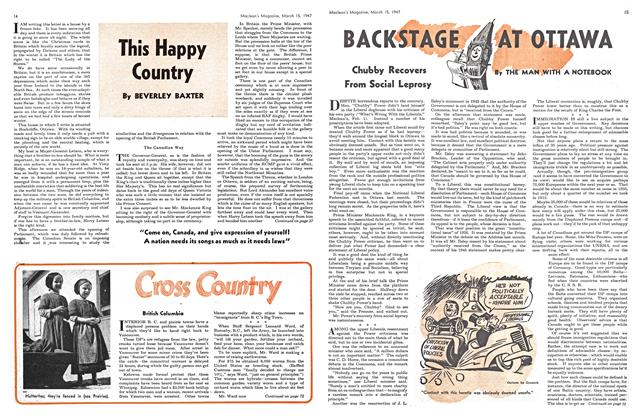 Article Preview: Cross Country, March 1947 | Maclean's