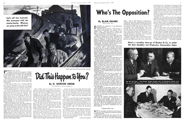 Article Preview: Who's The Opposition?, April 1947 | Maclean's