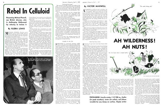 Article Preview: Rebel In Celluloid, April 1947 | Maclean's