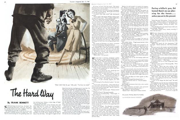 Article Preview: The Hard way, April 1947 | Maclean's