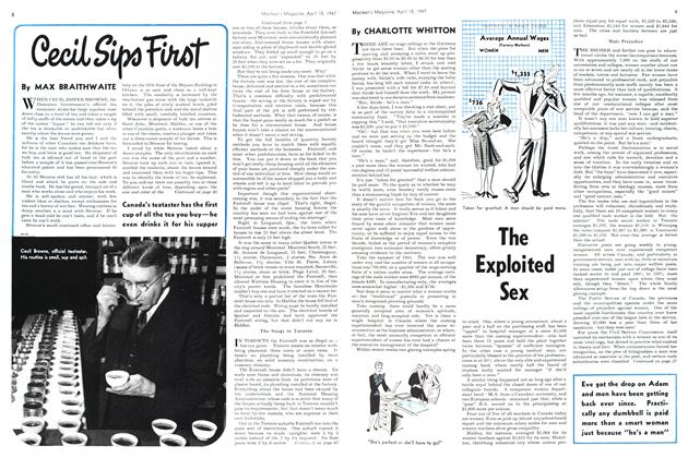 Article Preview: The Exploited Sex, April 1947 | Maclean's
