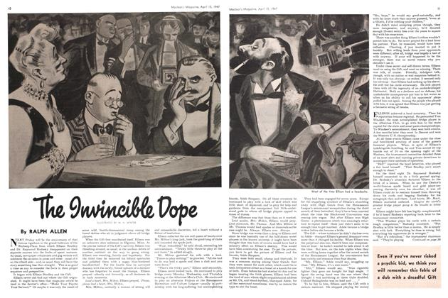 Article Preview: The invincible Dope, April 1947 | Maclean's