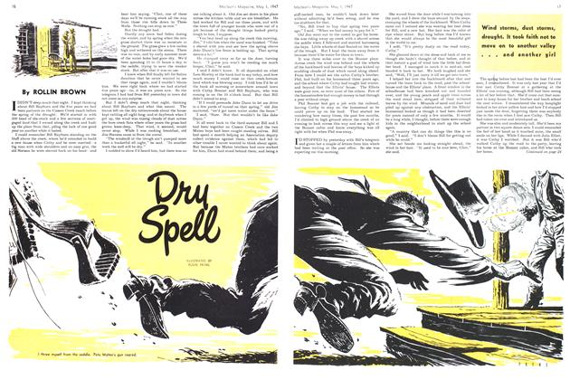 Article Preview: Dry Spell, May 1947   Maclean's