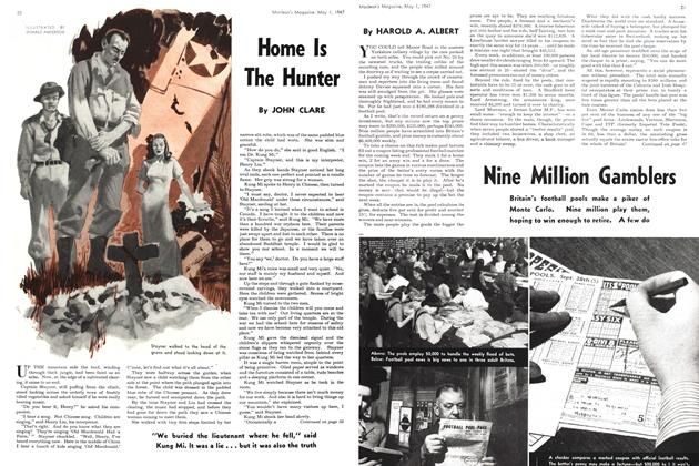 Article Preview: Home Is The Hunter, May 1947 | Maclean's
