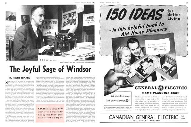 Article Preview: The Joyful Sage of Windsor, May 1947 | Maclean's