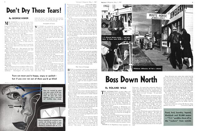 Article Preview: Boss Down North, May 1947 | Maclean's