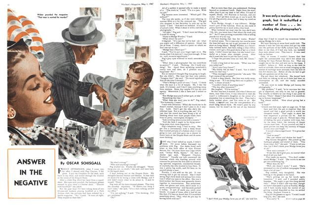Article Preview: ANSWER IN THE NEGATIVE, May 1947 | Maclean's