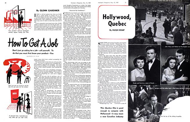 Article Preview: Hollywood, Quebec, May 1947 | Maclean's