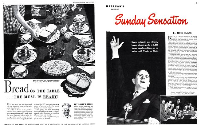 Article Preview: Sunday Sensation, May 1947 | Maclean's