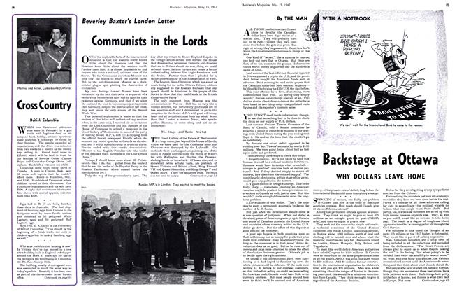 Article Preview: Communists in the Lords, May 1947 | Maclean's