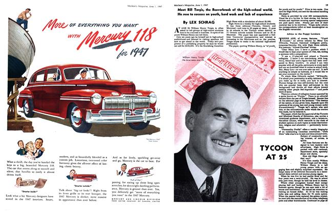 Article Preview: TYCOON AT 25, June 1947 | Maclean's