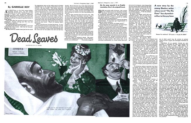 Article Preview: Dead Leaves, June 1947 | Maclean's