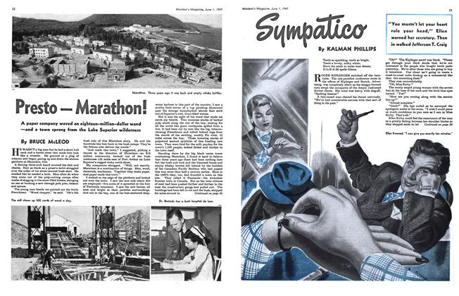 Article Preview: Sympatico, June 1947 | Maclean's
