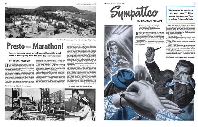 Article Preview: Presto—Marathon!, June 1947 | Maclean's