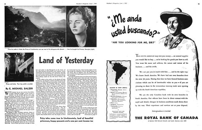 Article Preview: Land of Yesterday, June 1947 | Maclean's