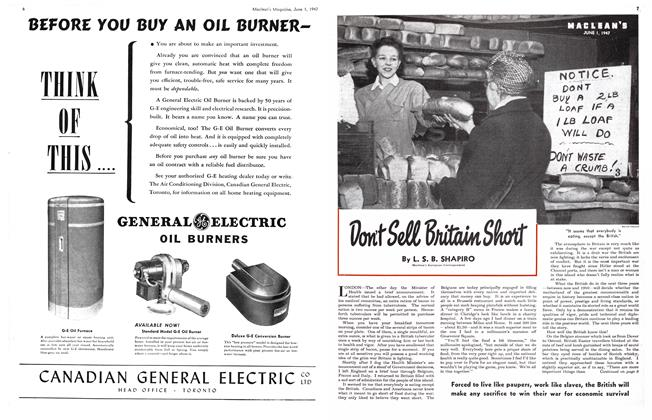 Article Preview: Don't Sell Britain Short, June 1947 | Maclean's