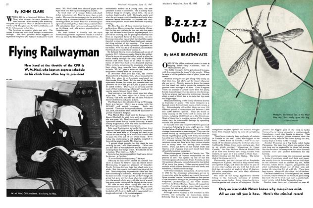 Article Preview: Flying Railwayman, June 1947 | Maclean's