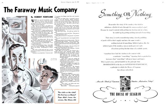 Article Preview: The Faraway Music Company, June 1947 | Maclean's