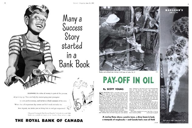 Article Preview: PAY-OFF IN OIL, June 1947 | Maclean's