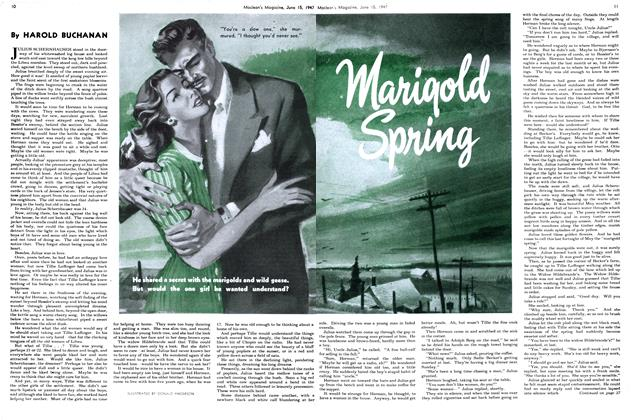 Article Preview: MARIGOLD SPRING, June 1947 | Maclean's