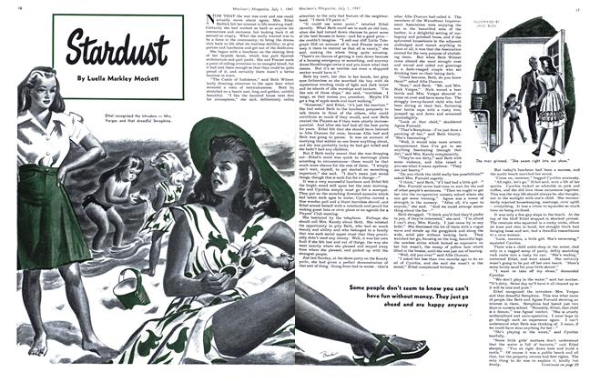 Article Preview: Stardust, July 1947 | Maclean's