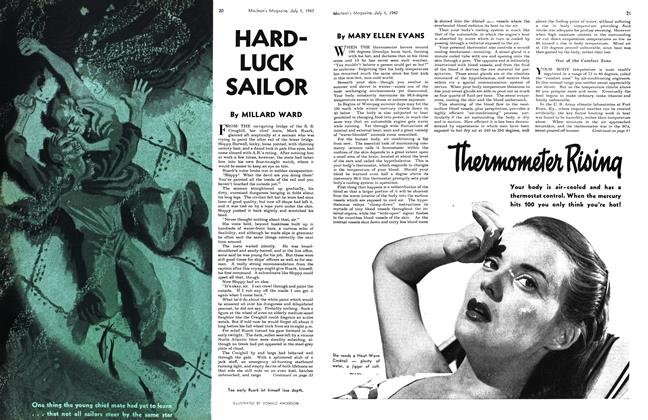 Article Preview: Thermometer Rising, July 1947 | Maclean's
