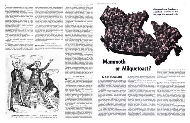 Article Preview: Mammoth or Milquetoast?, July 1947 | Maclean's