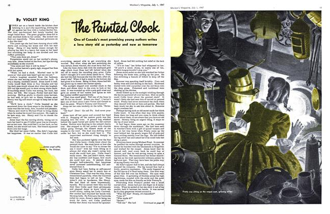Article Preview: The Painted Clock, July 1947 | Maclean's