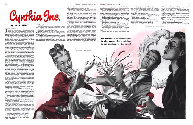 Article Preview: CYNTHIA INC., July 1947 | Maclean's