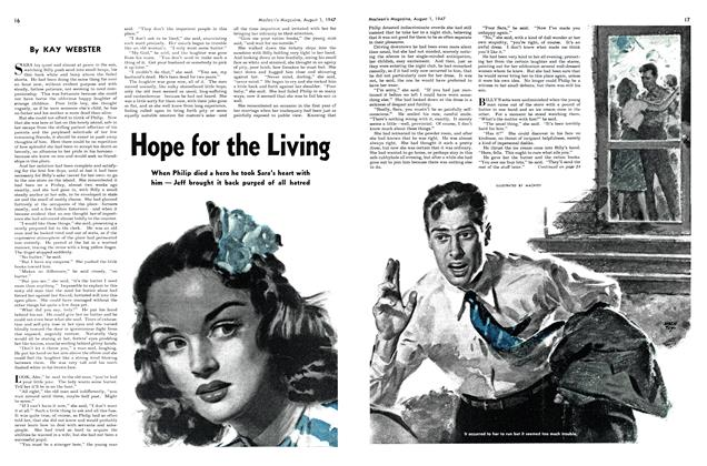 Article Preview: Hope for the Living, August 1947 | Maclean's