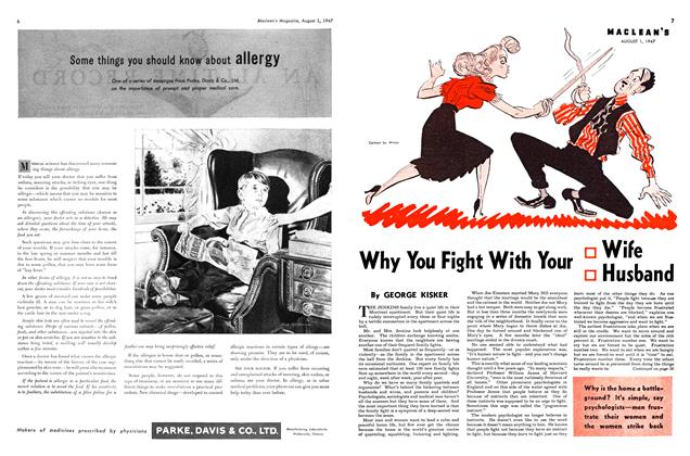 Article Preview: Why You Fight With Your Wife Husband, August 1947 | Maclean's