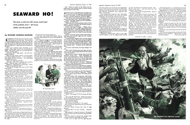 Article Preview: SEAWARD HO!, August 1947 | Maclean's