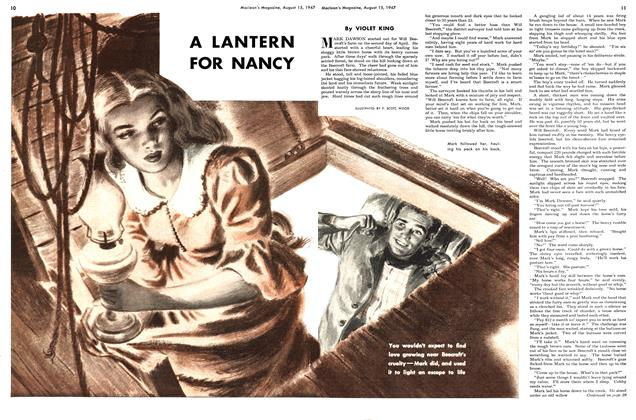 Article Preview: A LANTERN FOR NANCY, August 1947 | Maclean's