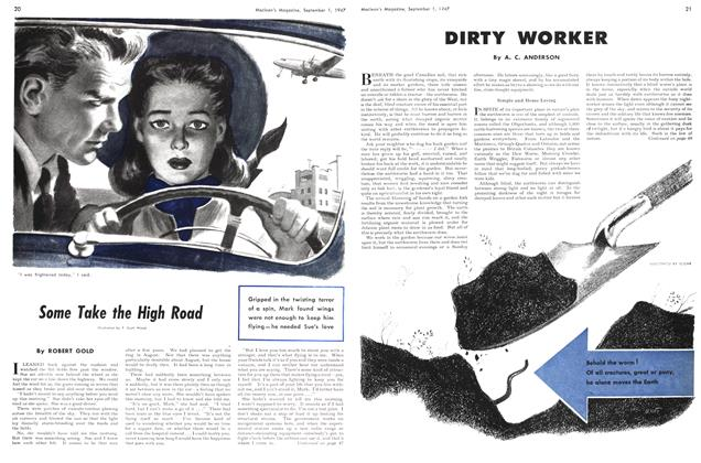 Article Preview: Some Take the High Road, September 1947 | Maclean's