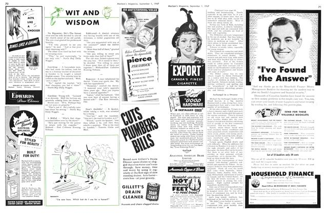 Article Preview: WIT AND WISDOM, September 1947 | Maclean's
