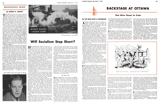 Article Preview: Will Socialism Stop Short?, September 1947 | Maclean's
