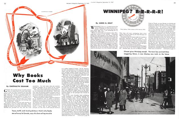 Article Preview: Why Books Cost Too Much, September 1947 | Maclean's