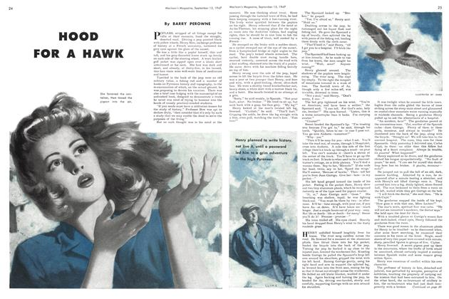 Article Preview: HOOD FOR A HAWK, September 1947 | Maclean's