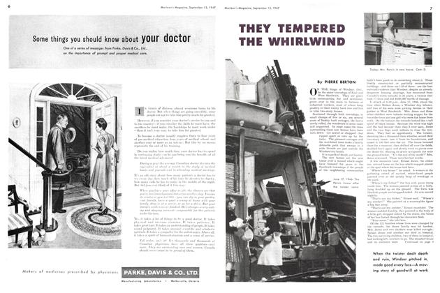 Article Preview: THEY TEMPERED THE WHIRLWIND, September 1947 | Maclean's