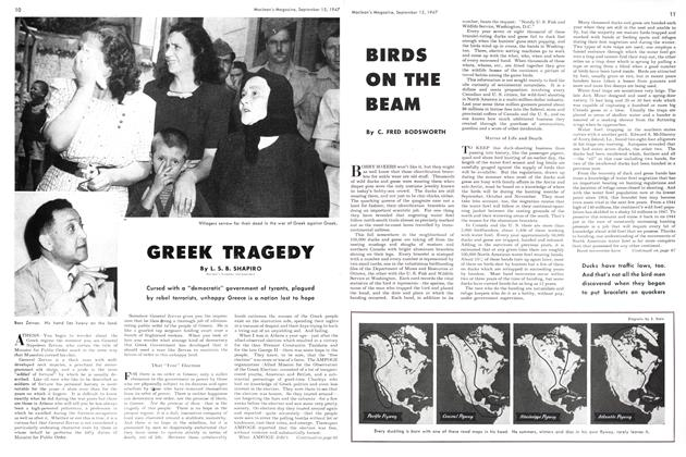 Article Preview: GREEK TRAGEDY, September 1947 | Maclean's