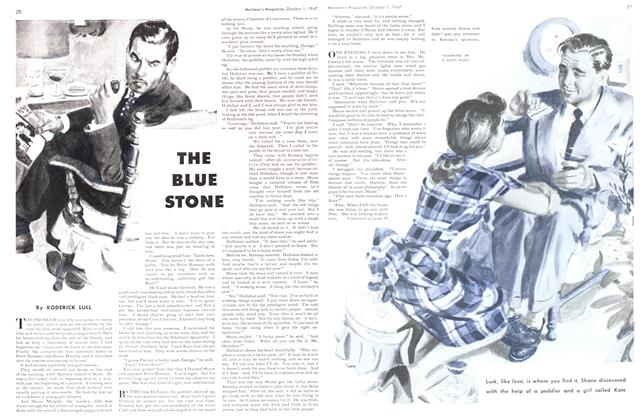 Article Preview: THE BLUE STONE, October 1947 | Maclean's