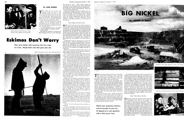 Article Preview: BIG NICKEL, October 1947 | Maclean's