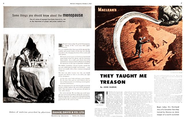 Article Preview: THEY TAUGHT ME TREASON, October 1947 | Maclean's