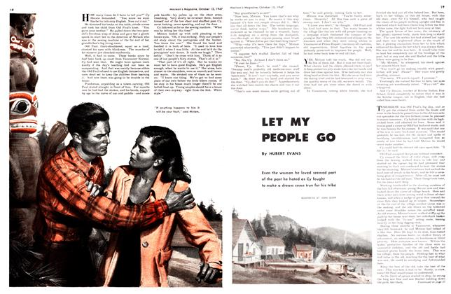 Article Preview: LET MY PEOPLE GO, October 1947 | Maclean's