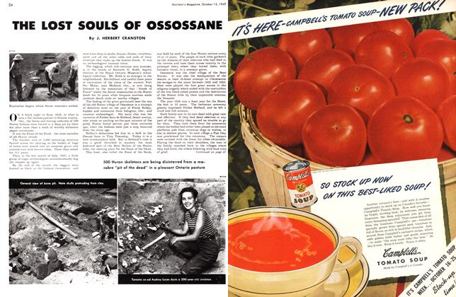 Article Preview: THE LOST SOULS OF OSSOSSANE, October 1947 | Maclean's