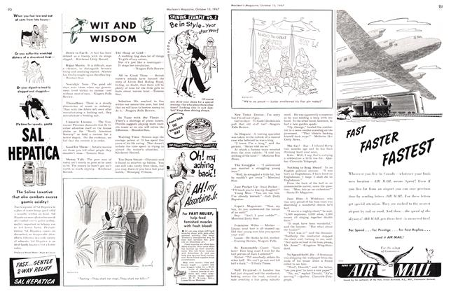 Article Preview: WIT AND WISDOM, October 1947 | Maclean's