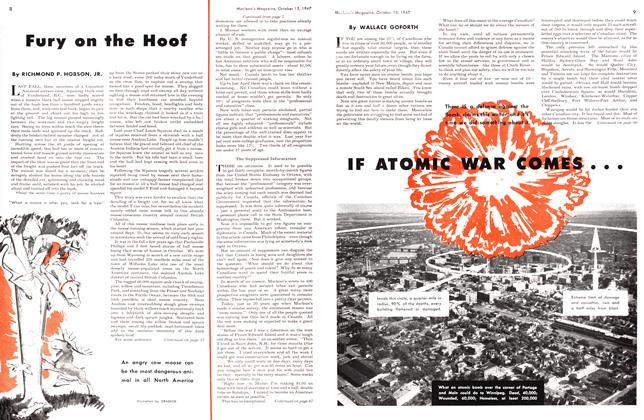 Article Preview: IF ATOMIC WAR COMES ..., October 1947 | Maclean's